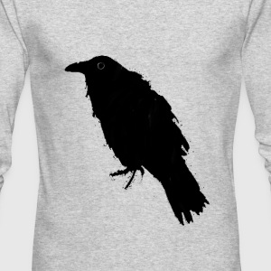 Nice Raven Art - Men's Long Sleeve T-Shirt by Next Level