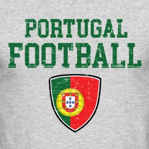 Portugal football designs - Men's Long Sleeve T-Shirt by Next Level