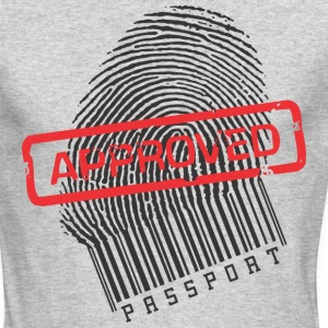 Approved fingerprint - Men's Long Sleeve T-Shirt by Next Level