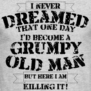 Grumpy Old Man - Men's Long Sleeve T-Shirt by Next Level