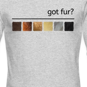 got fur?-Furry Fun-Bear Pride Flag - Men's Long Sleeve T-Shirt by Next Level
