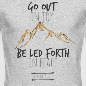 Isaiah 55:12 - Men's Long Sleeve T-Shirt by Next Level
