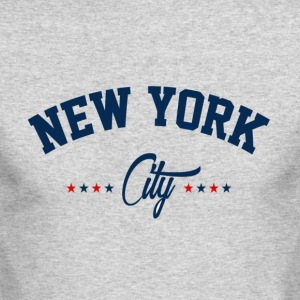 New York City Shirt - Men's Long Sleeve T-Shirt by Next Level