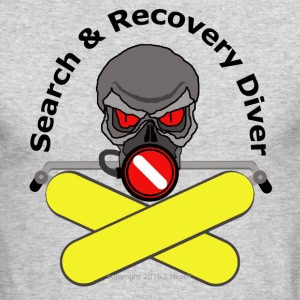 Search And Recovery Diver - Men's Long Sleeve T-Shirt by Next Level