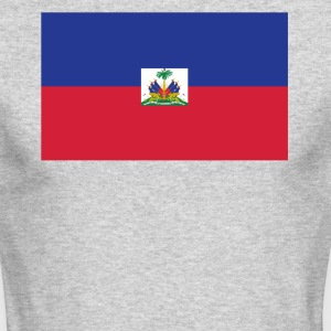 Flag of Haiti Cool Haitian Flag - Men's Long Sleeve T-Shirt by Next Level