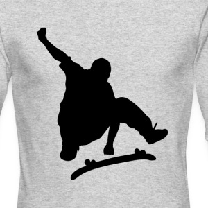 Jumping skater - Men's Long Sleeve T-Shirt by Next Level