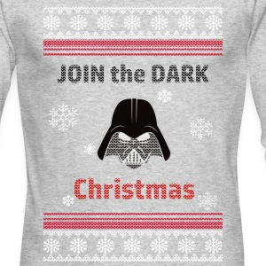 Join The Dark Christmas - Men's Long Sleeve T-Shirt by Next Level