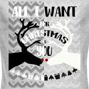 Ugly Sweater - All i want for christmas - Men's Long Sleeve T-Shirt by Next Level