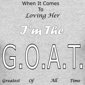 Loving GOAT (Her) - Men's Long Sleeve T-Shirt by Next Level