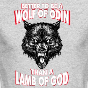 Wolf Of Odin - Men's Long Sleeve T-Shirt by Next Level