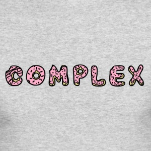 Complex Doughnut - Men's Long Sleeve T-Shirt by Next Level