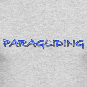 Paragliding1Climb Female and Male Climbing T-Shirt - Men's Long Sleeve T-Shirt by Next Level