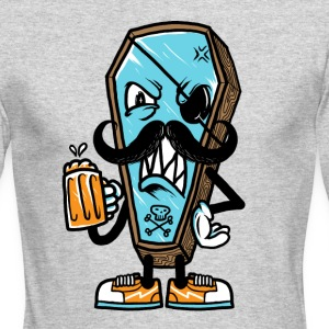 beer till die - Men's Long Sleeve T-Shirt by Next Level