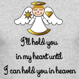 Memorial Infant-Child I Will Hold You In My Heart - Men's Long Sleeve T-Shirt by Next Level