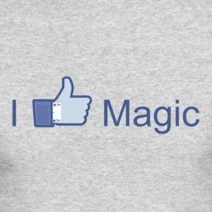 I Like Magic - Men's Long Sleeve T-Shirt by Next Level