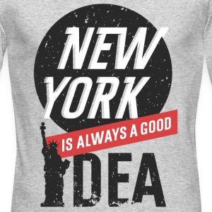 New York - Men's Long Sleeve T-Shirt by Next Level