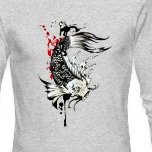 koi fish - Men's Long Sleeve T-Shirt by Next Level