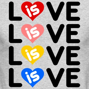 Love is Love - Men's Long Sleeve T-Shirt by Next Level