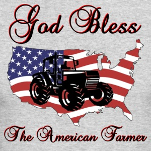 God Bless the American Farmer - Men's Long Sleeve T-Shirt by Next Level