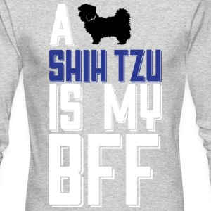 A Shih Tzu Is My Bff T Shirt - Men's Long Sleeve T-Shirt by Next Level