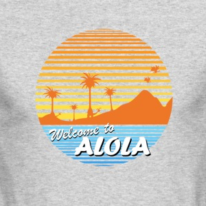 Welcome to Alola - Men's Long Sleeve T-Shirt by Next Level
