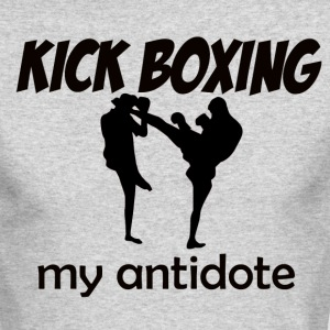 Kick Boxing design - Men's Long Sleeve T-Shirt by Next Level