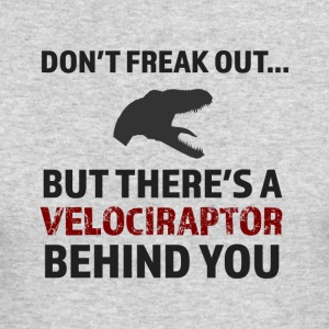 There'a a Raptor Behind You! - Men's Long Sleeve T-Shirt by Next Level