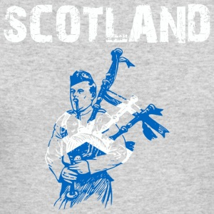 Nation-Design Scotland Bagpipe - Men's Long Sleeve T-Shirt by Next Level