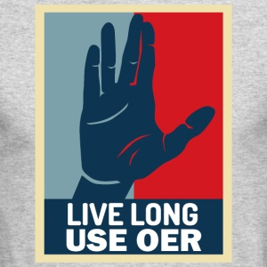 Live Long User OER - Men's Long Sleeve T-Shirt by Next Level