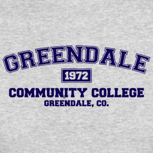 Greendale Community College - Men's Long Sleeve T-Shirt by Next Level