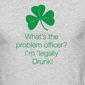 Legally Drunk - Men's Long Sleeve T-Shirt by Next Level
