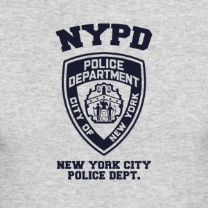 NYPD Hoodie [GR] - Men's Long Sleeve T-Shirt by Next Level