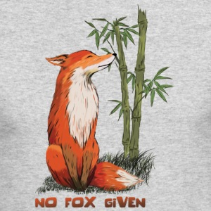 No Fox Given - Men's Long Sleeve T-Shirt by Next Level