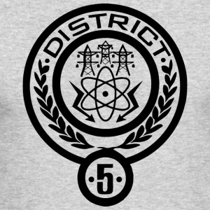 district 5 - Men's Long Sleeve T-Shirt by Next Level