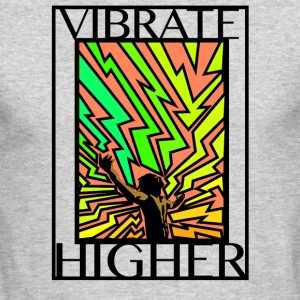 Vibrate Higher - Men's Long Sleeve T-Shirt by Next Level