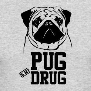 Pug is my Drug - Men's Long Sleeve T-Shirt by Next Level
