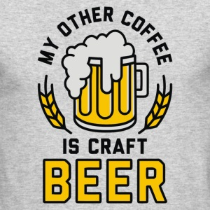 My Other Coffee is Craft Beer - Men's Long Sleeve T-Shirt by Next Level