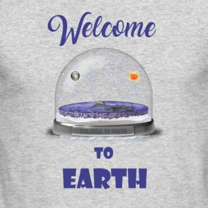 welcome to Earth - Men's Long Sleeve T-Shirt by Next Level