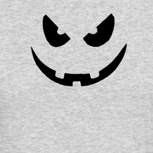 Pumpkin Face - Men's Long Sleeve T-Shirt by Next Level