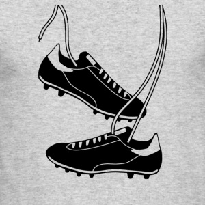 Football Boots - Men's Long Sleeve T-Shirt by Next Level