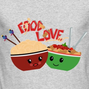 Food Love - Men's Long Sleeve T-Shirt by Next Level