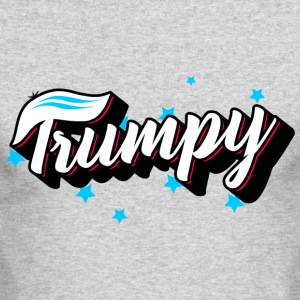 Trumpy Trump America - Men's Long Sleeve T-Shirt by Next Level
