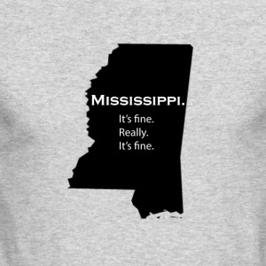 Mississippi - Men's Long Sleeve T-Shirt by Next Level