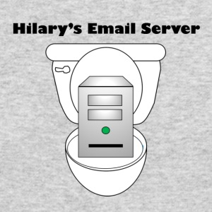 Hilary's Email Server - Men's Long Sleeve T-Shirt by Next Level