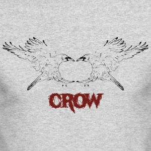 Mirror Crow - Men's Long Sleeve T-Shirt by Next Level