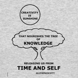 CREATIVITY SUNSHINE TREE OF KNOWLEDGE TIME AND SEL - Men's Long Sleeve T-Shirt by Next Level