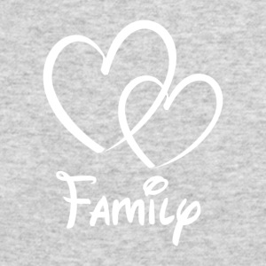 Heart Family - Men's Long Sleeve T-Shirt by Next Level