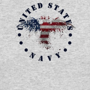 USA Navy - Men's Long Sleeve T-Shirt by Next Level