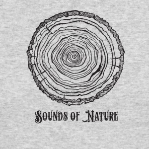 sounds of nature tee - Men's Long Sleeve T-Shirt by Next Level