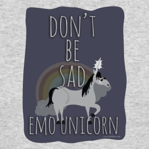 The Sad Emo Unicorn - Men's Long Sleeve T-Shirt by Next Level
